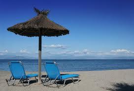 Benitses spiaggia