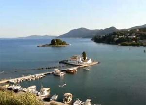 Kanoni e Pontikonisi a Corfu